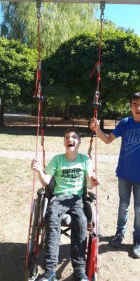 Justin Rollstuhlschaukel